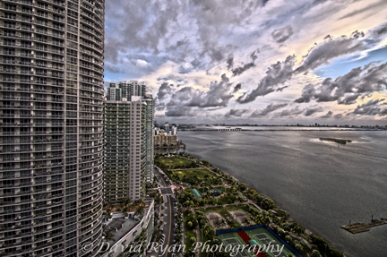 View of North Bay, Miami