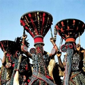 Bamiléké dancers, Cameroon