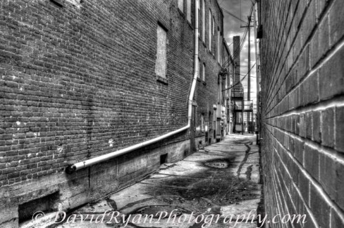 alley in Nampa Idaho