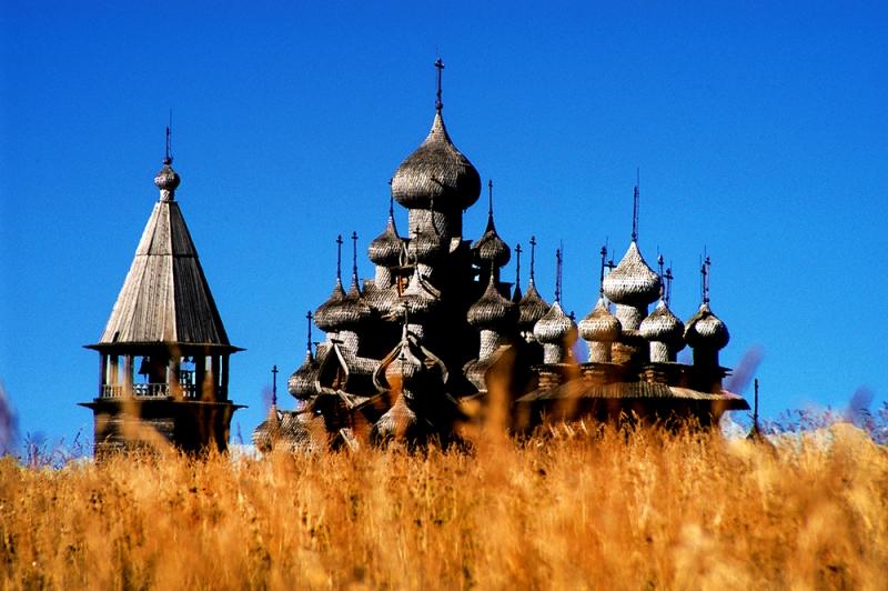 church of the tranasfiguration on Kizhi island